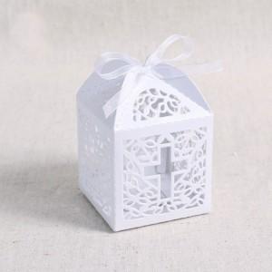 Коробочка-бонбоньерка на Крещение (цвет ленточки любой)