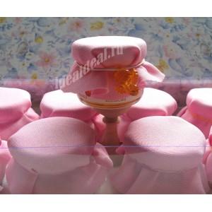 """Баночки-подарочки для гостей на Крещение девочки """"ангел"""""""