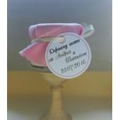 """Подарки для гостей (мини баночки варенья/меда) """"розовый слоник"""""""