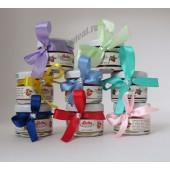 """Подарки для гостей (мини баночки варенья)  """"с лентой и стразом"""" цвет ленты можно выбрать"""