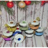 """Набор варенья с пожеланиями """"Блеск"""" (8 баночек с Вашими пожеланиями) на Новый Год"""