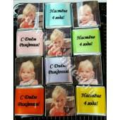 Шоколад с фото на Детский День Рождения